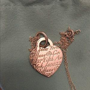 Authentic Tiffany & Co. heart pendant